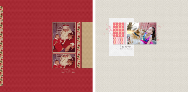 25 Days of Holiday Templates: Day 8