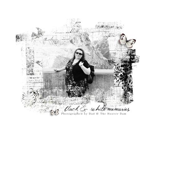 Black & White Memories - Web Inspiration Challenge
